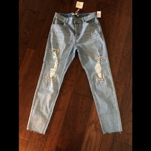NWT Free Generation crystal embellished jeans